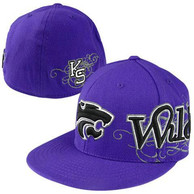 K-State Wildcats Top of the World Flex Hat - Purple