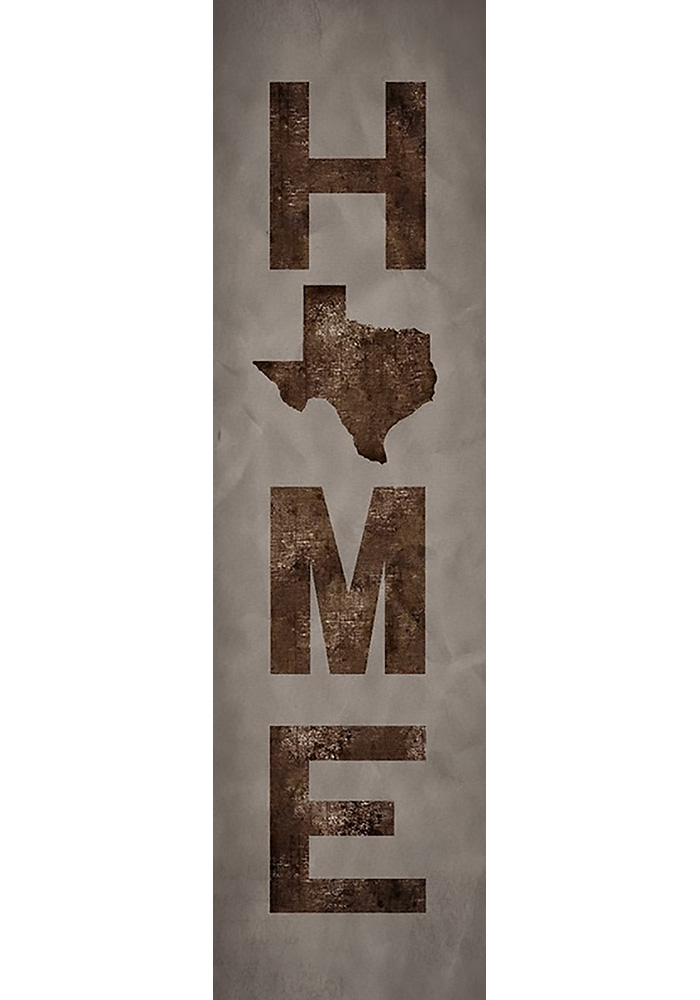 Texas 6x20 Inch Home Wall Art - Image 1