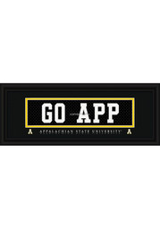 Appalachian State 8x20 Framed Posters