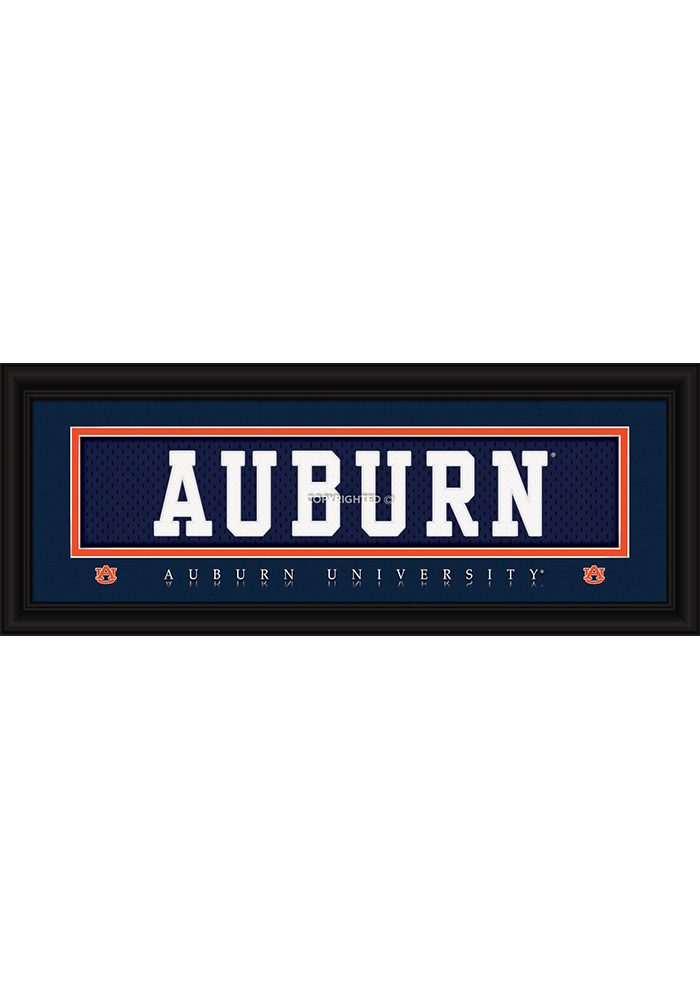 Auburn Tigers 8x20 Framed Posters - Image 1