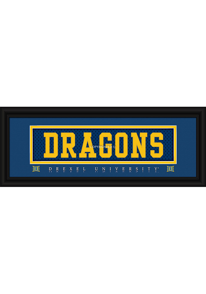 Drexel Dragons 8x20 Framed Posters - Image 1