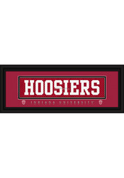 Indiana Hoosiers 8x20 framed Framed Posters