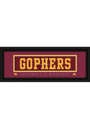 Minnesota Golden Gophers 8x20 framed Framed Posters