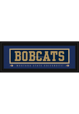 Montana State Bobcats 8x20 framed Framed Posters