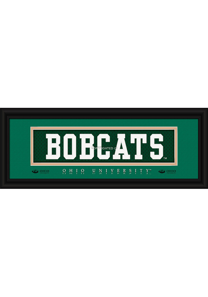 Ohio Bobcats 8x20 framed Framed Posters - Image 1