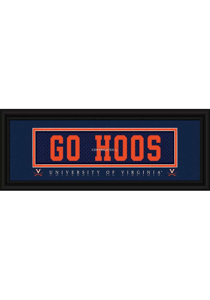 Virginia Cavaliers 8x20 framed Framed Posters - Image 1