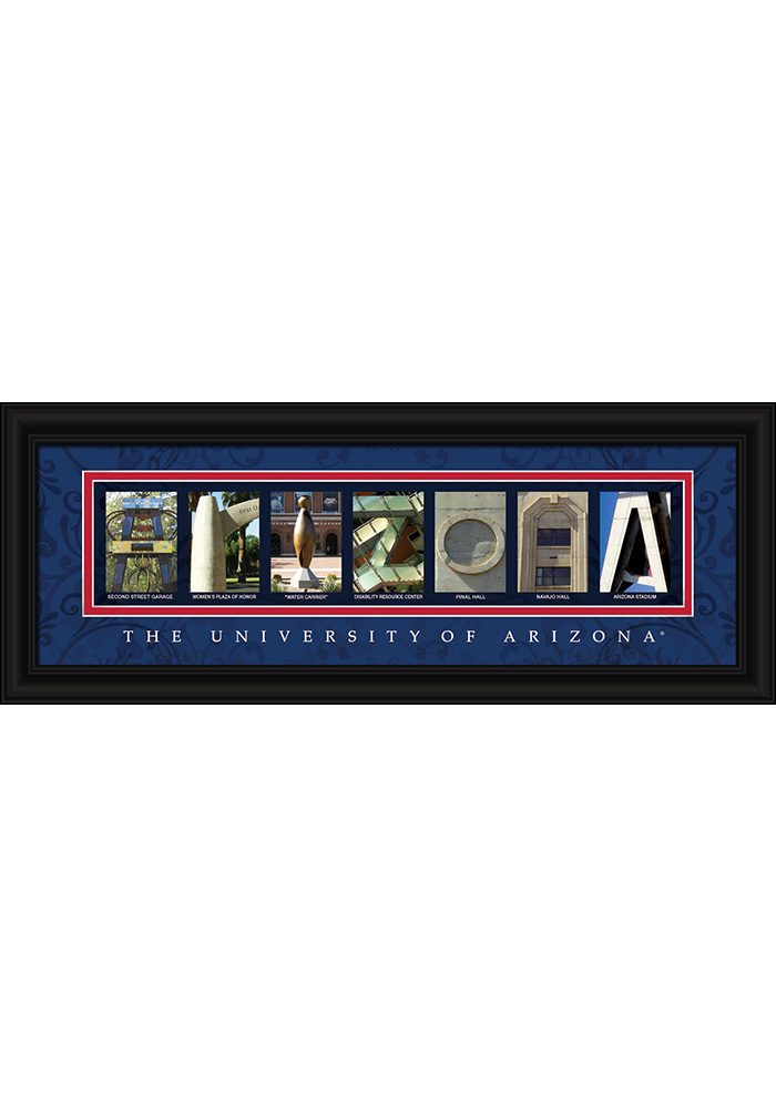 Arizona Wildcats 8x20 Framed Posters - Image 1