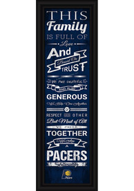Indiana Pacers 8x24 Framed Posters