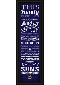Phoenix Suns 8x24 Framed Posters