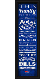 Buffalo Bills 8x24 Framed Posters
