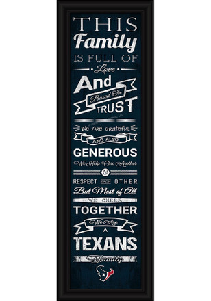 Houston Texans 8x24 Framed Posters