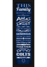Indianapolis Colts 8x24 Framed Posters