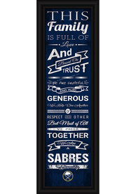 Buffalo Sabres 8x24 Framed Posters