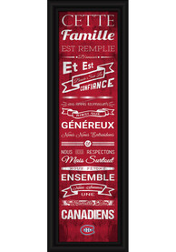 Montreal Canadiens 8x24 Framed Posters