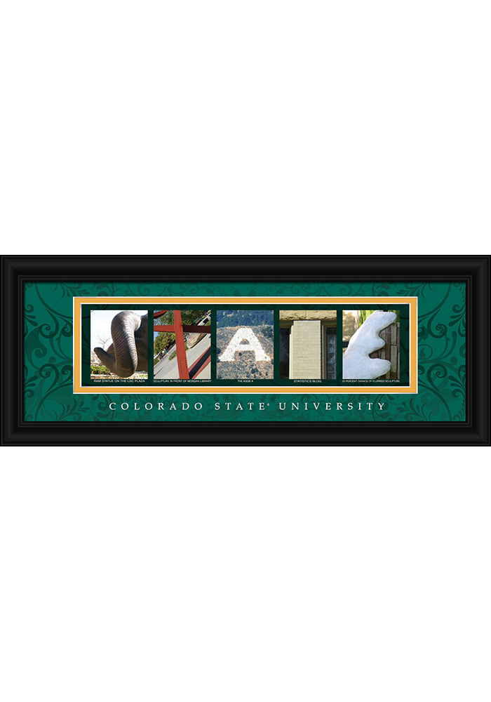 Colorado State Rams 8x20 Framed Posters - Image 1