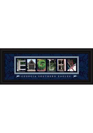 Georgia Southern Eagles 8x20 Framed Posters