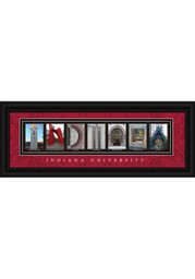 Indiana Hoosiers 8x20 Framed Posters