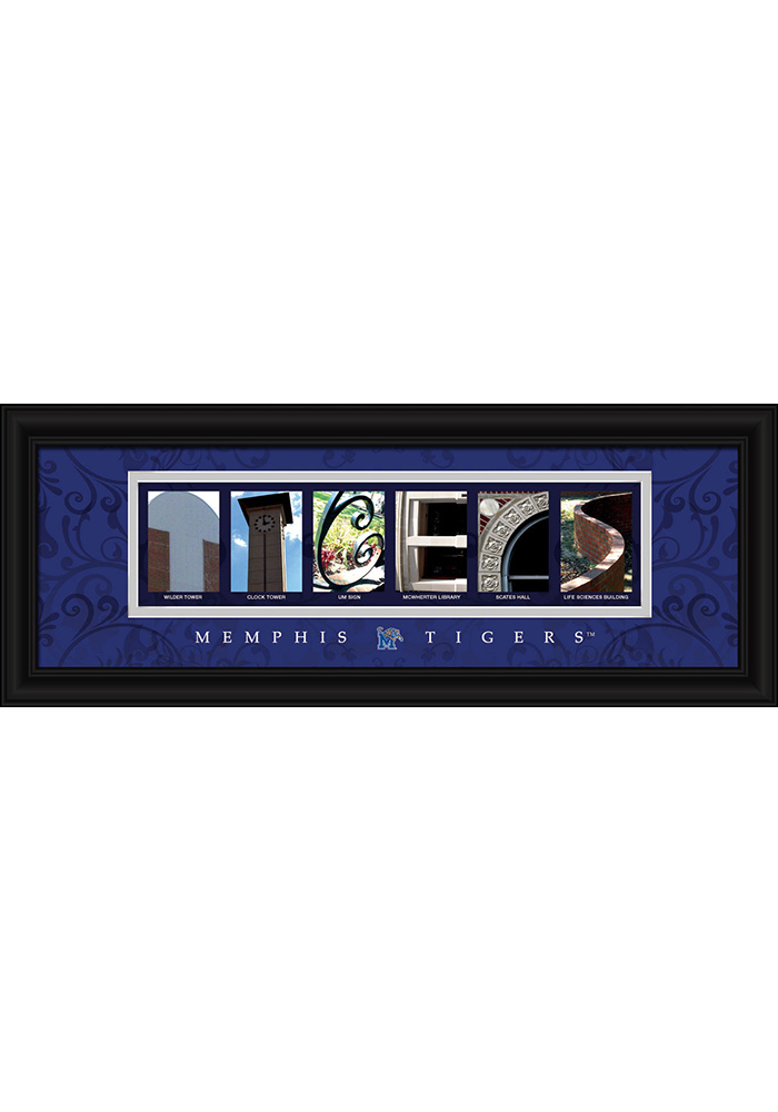 Memphis Tigers 8x20 Framed Posters - Image 1