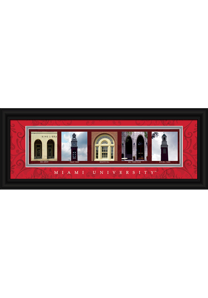 Miami Redhawks 8x20 Framed Posters 6540359