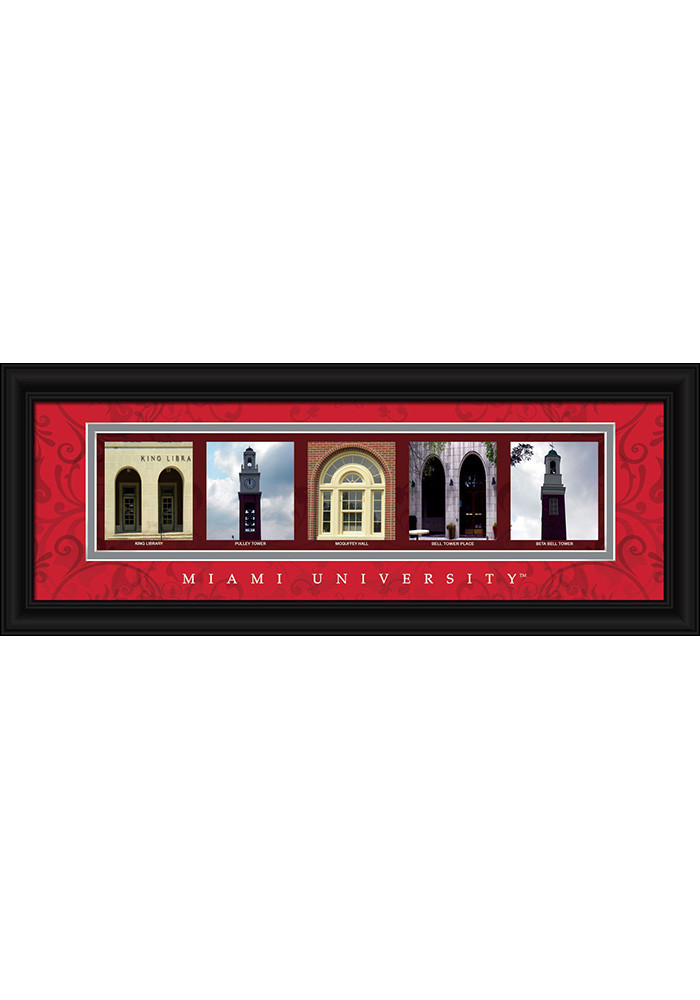 Miami Redhawks 8x20 Framed Posters - Image 1