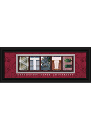 Mississippi State Bulldogs 8x20 Framed Posters
