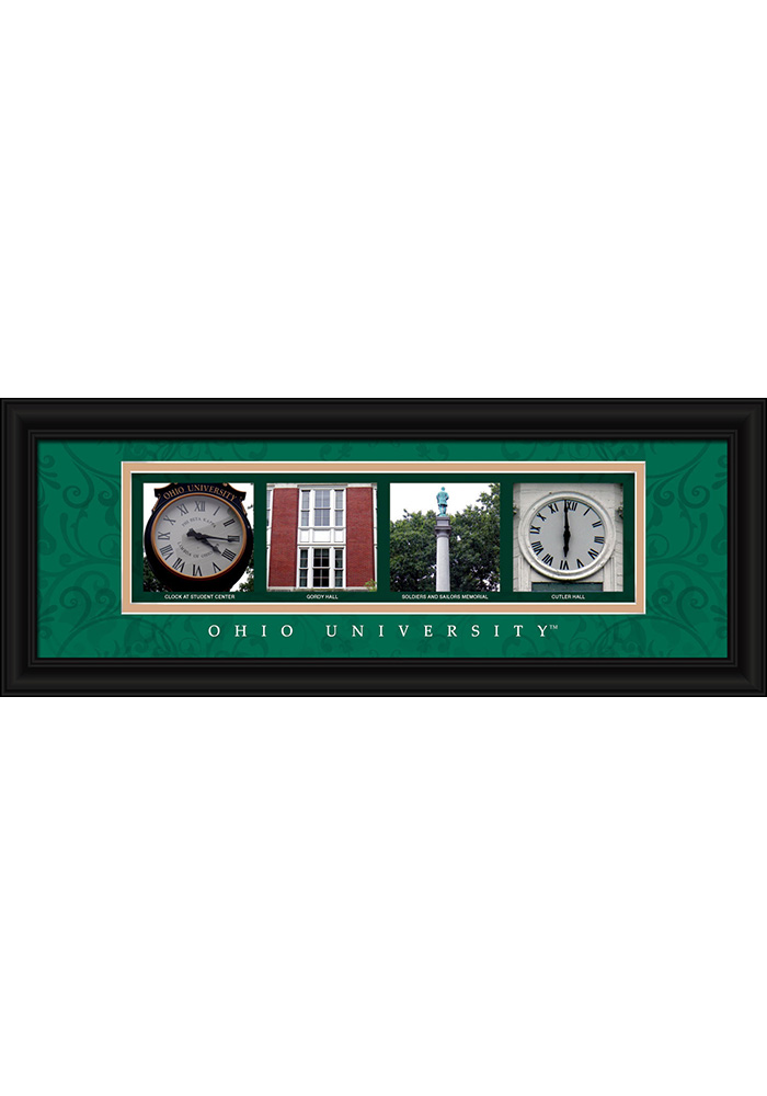 Ohio Bobcats 8x20 Framed Posters - Image 1