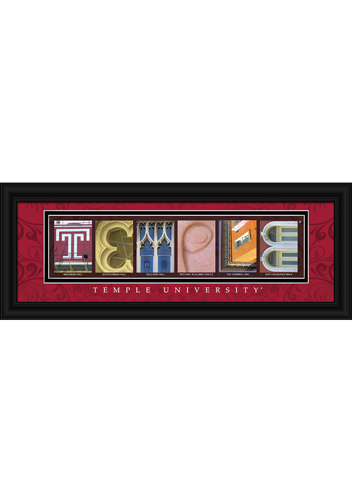 Temple Owls 8x20 Framed Posters - Image 1