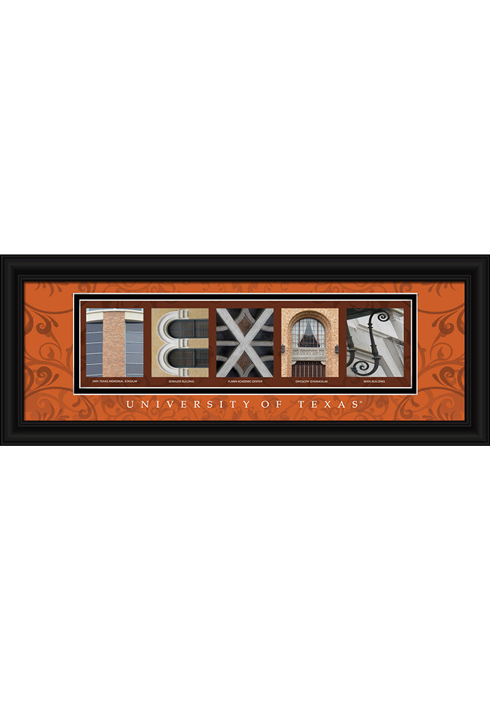 Texas Longhorns 8x20 Framed Posters - Image 1
