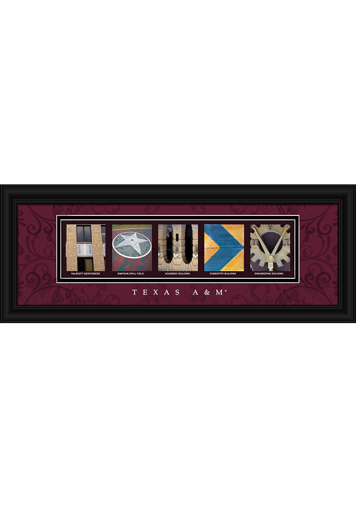Texas A&M Aggies 8x20 Framed Posters - Image 1