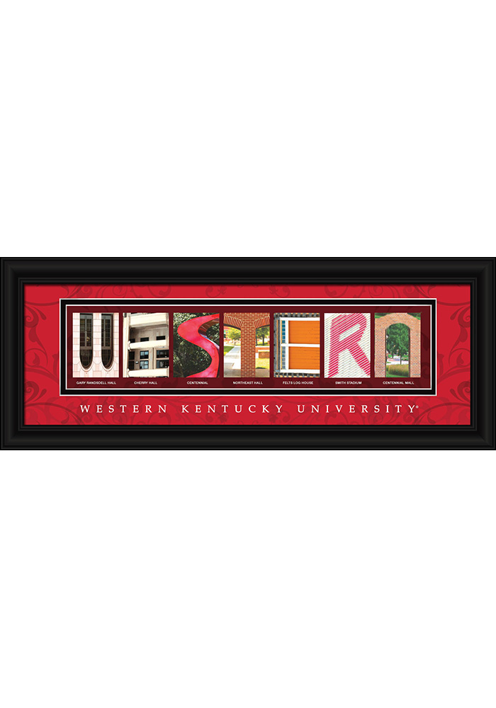 Western Kentucky 8x20 Framed Posters - Image 1