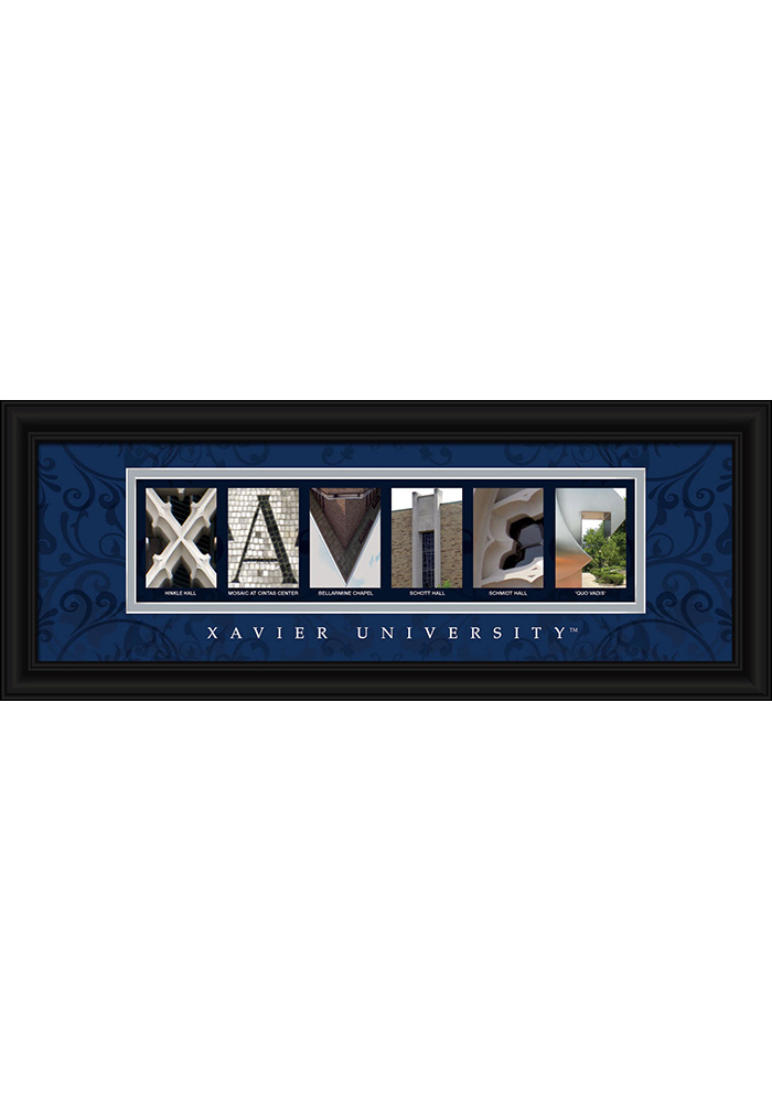 Xavier Musketeers 8x20 Framed Posters - Image 1