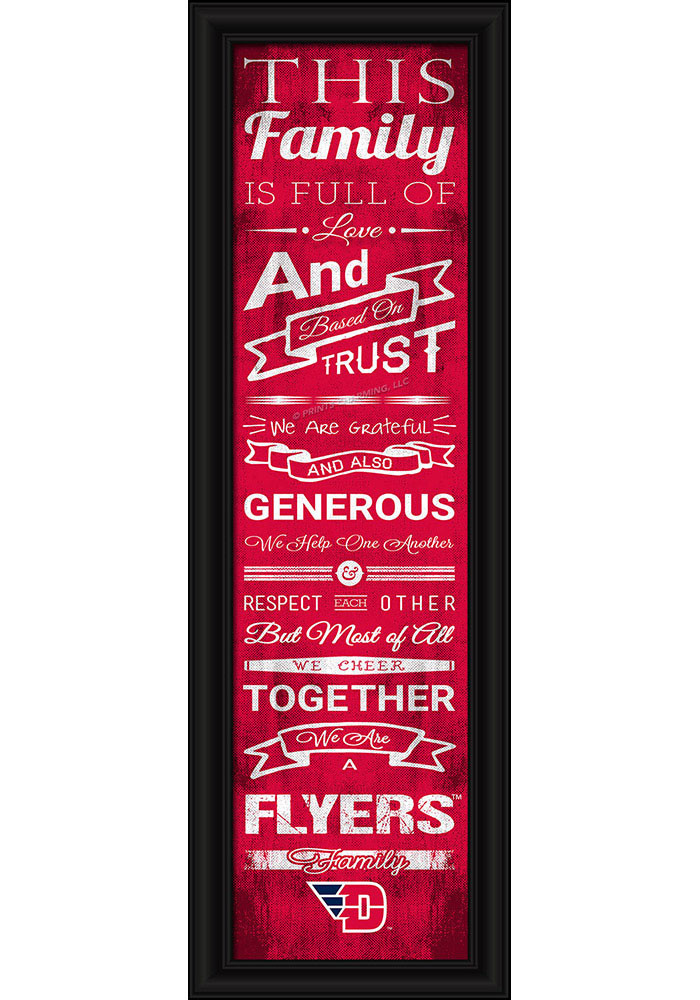 Dayton Flyers 8x24 Framed Posters - Image 1