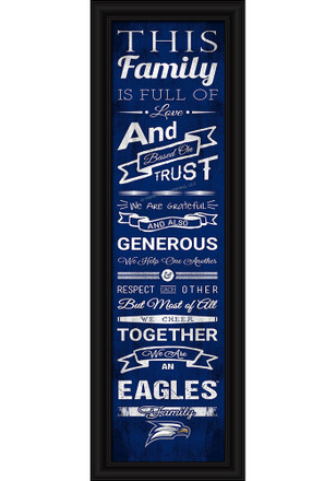 Georgia Southern Eagles 8x24 Framed Posters
