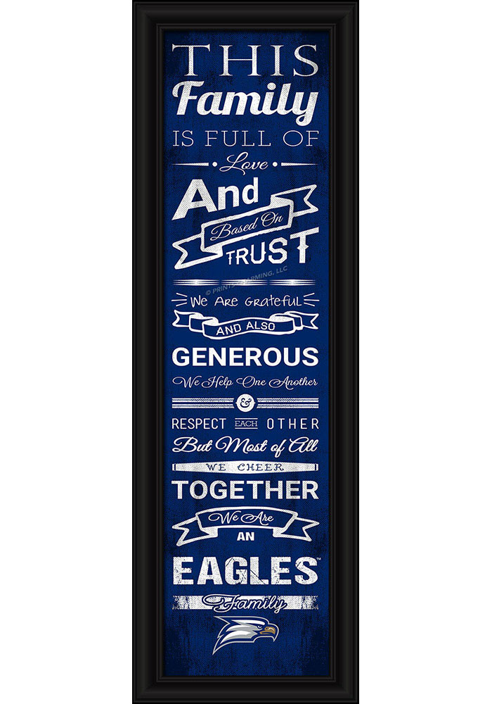 Georgia Southern Eagles 8x24 Framed Posters - Image 1