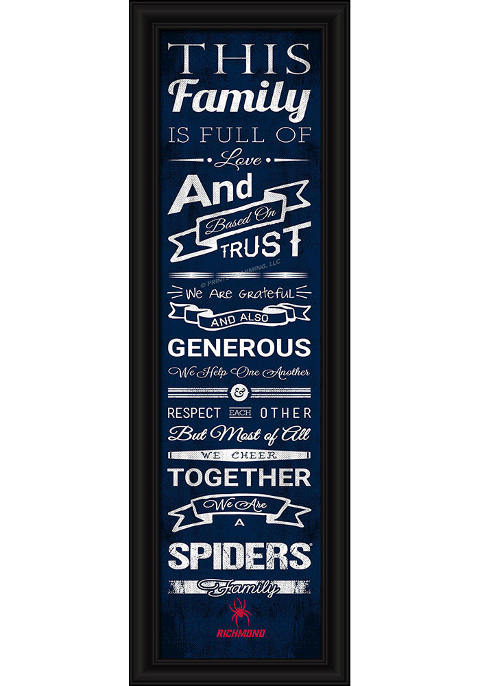 Richmond Spiders 8x24 Framed Posters - Image 1