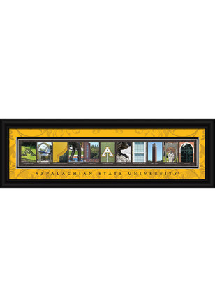 Appalachian State 8x24 Framed Posters