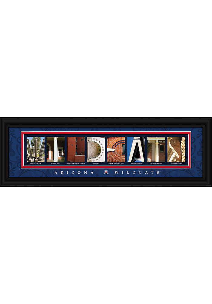 Arizona Wildcats 8x24 Framed Posters - Image 1