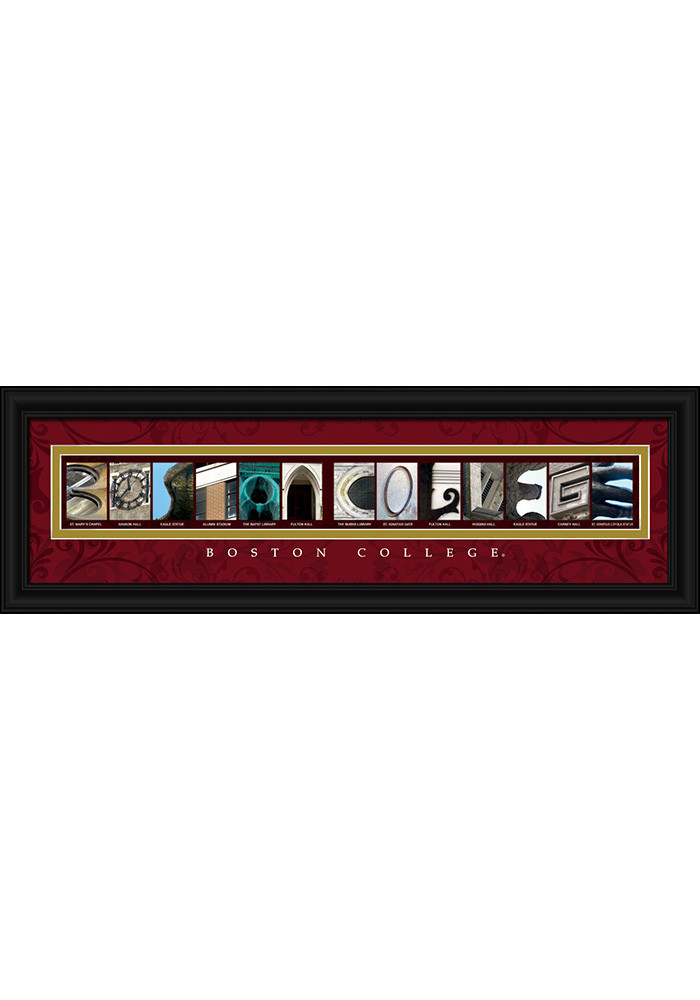 Boston College Eagles 8x24 Framed Posters - Image 1
