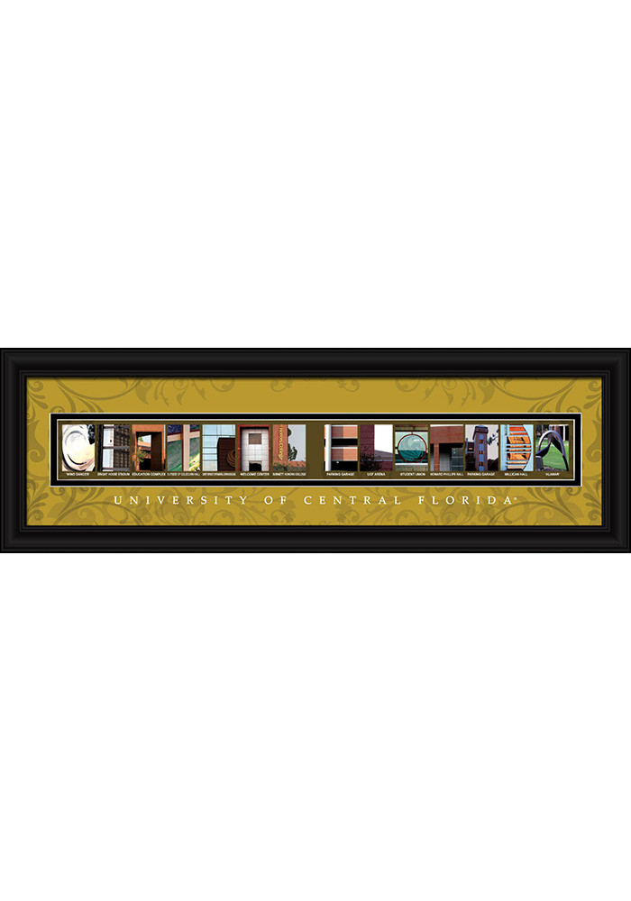 UCF Knights 8x24 Framed Posters - Image 1
