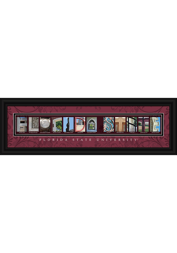 Florida State Seminoles 8x24 Framed Posters - Image 1