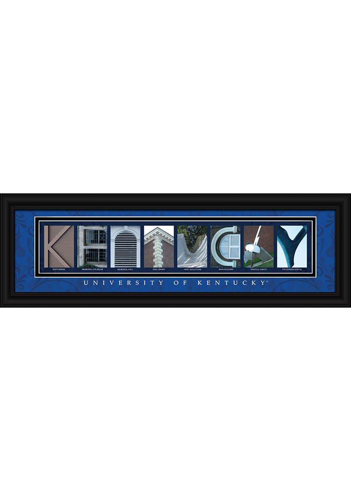 Kentucky Wildcats 8x24 Framed Posters - Image 1