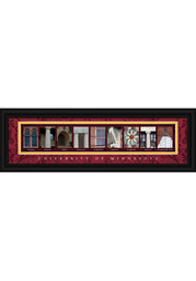 Minnesota Golden Gophers 8x24 Framed Posters
