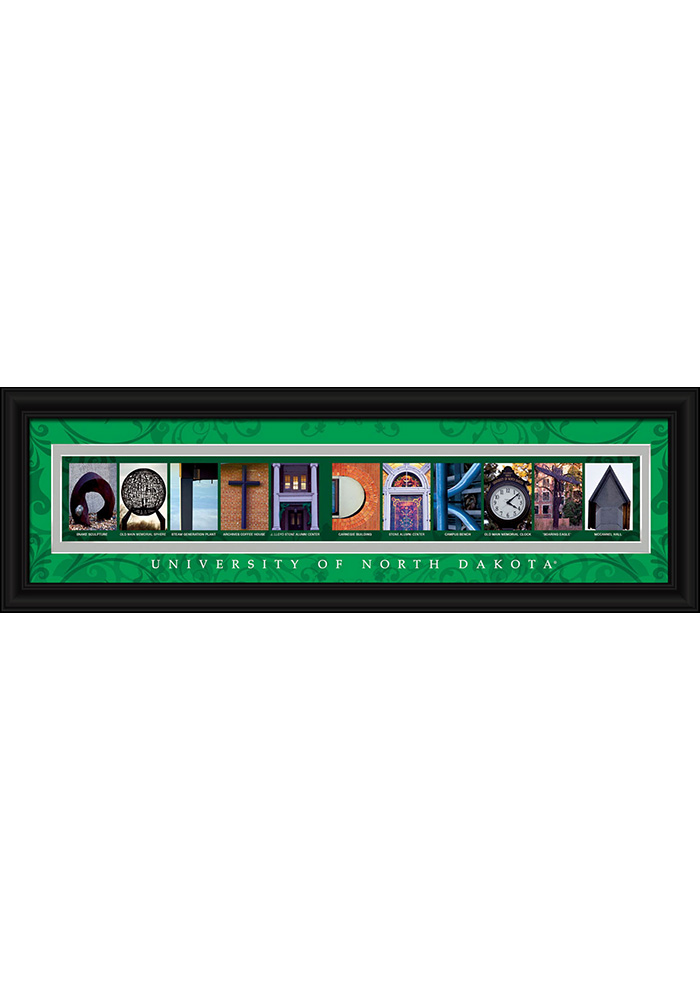 North Dakota State 8x24 Framed Posters - Image 1