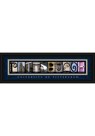 Pitt Panthers 8x24 Framed Posters