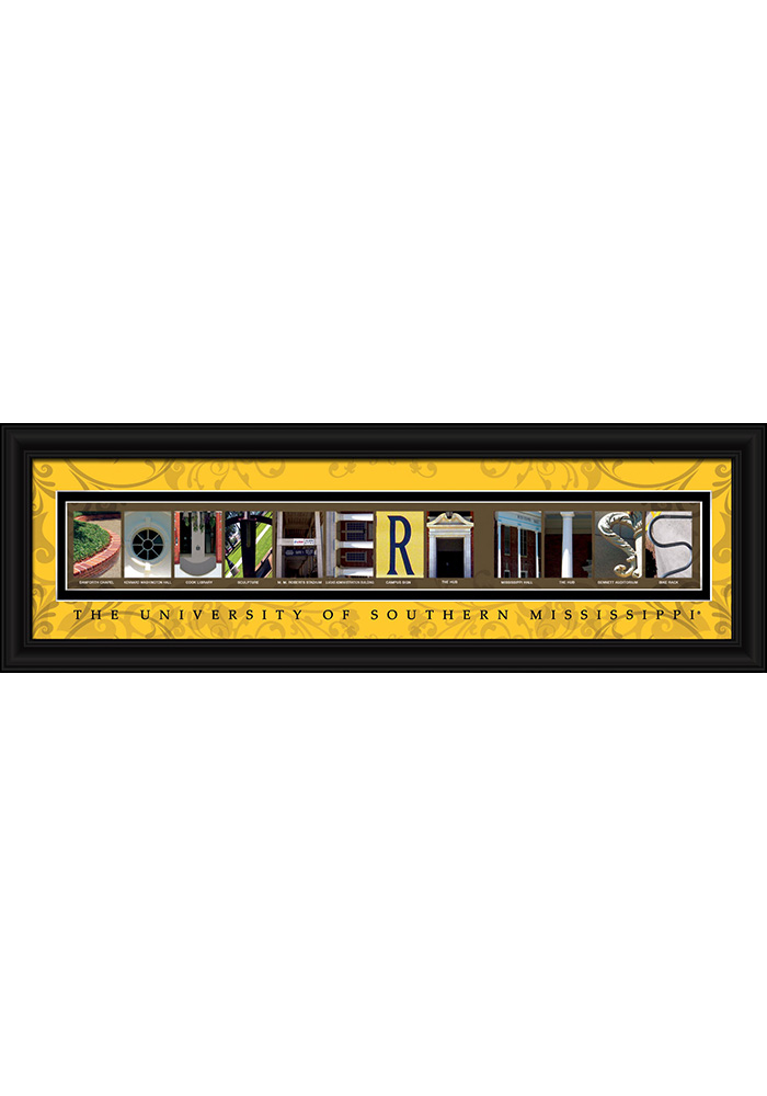 Southern Mississippi 8x24 Framed Posters - Image 1