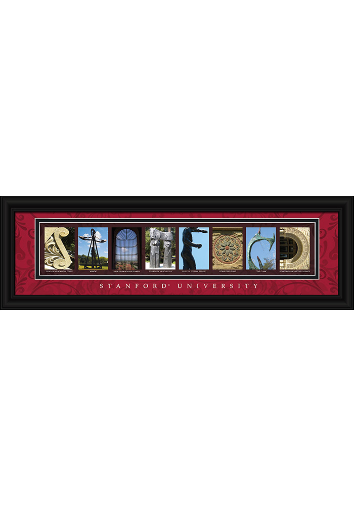 Stanford Cardinal 8x24 Framed Posters - 6540600