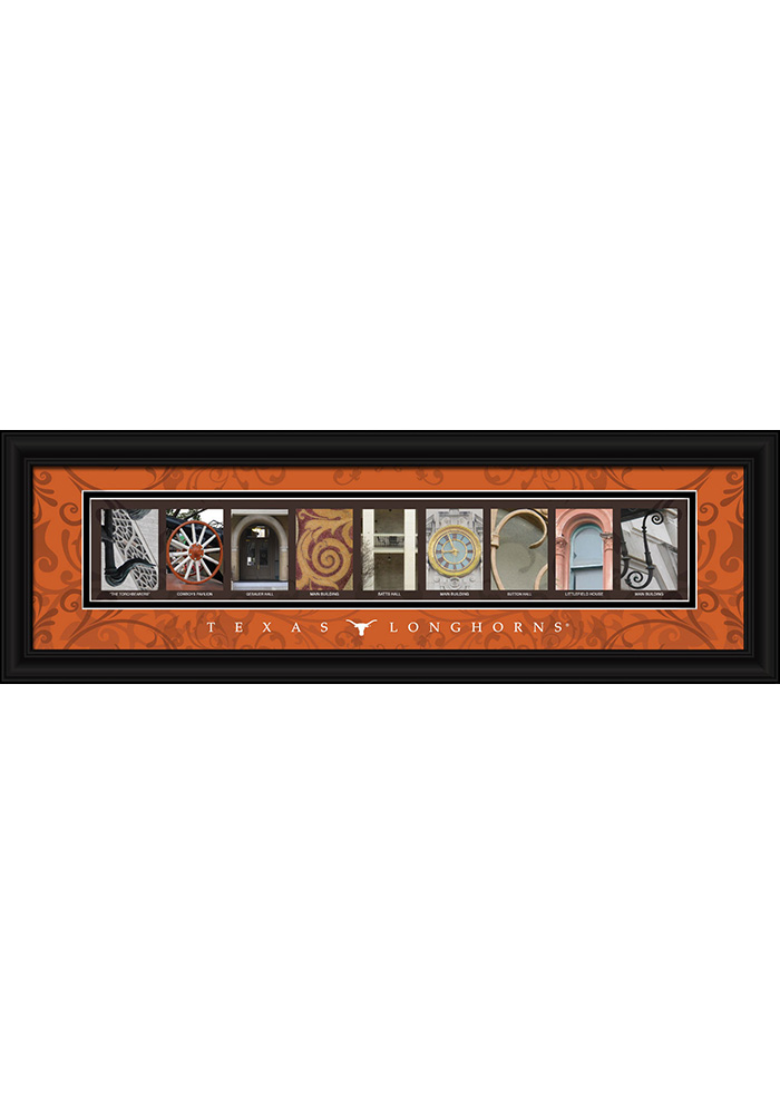 Texas Longhorns 8x24 Framed Posters - Image 1
