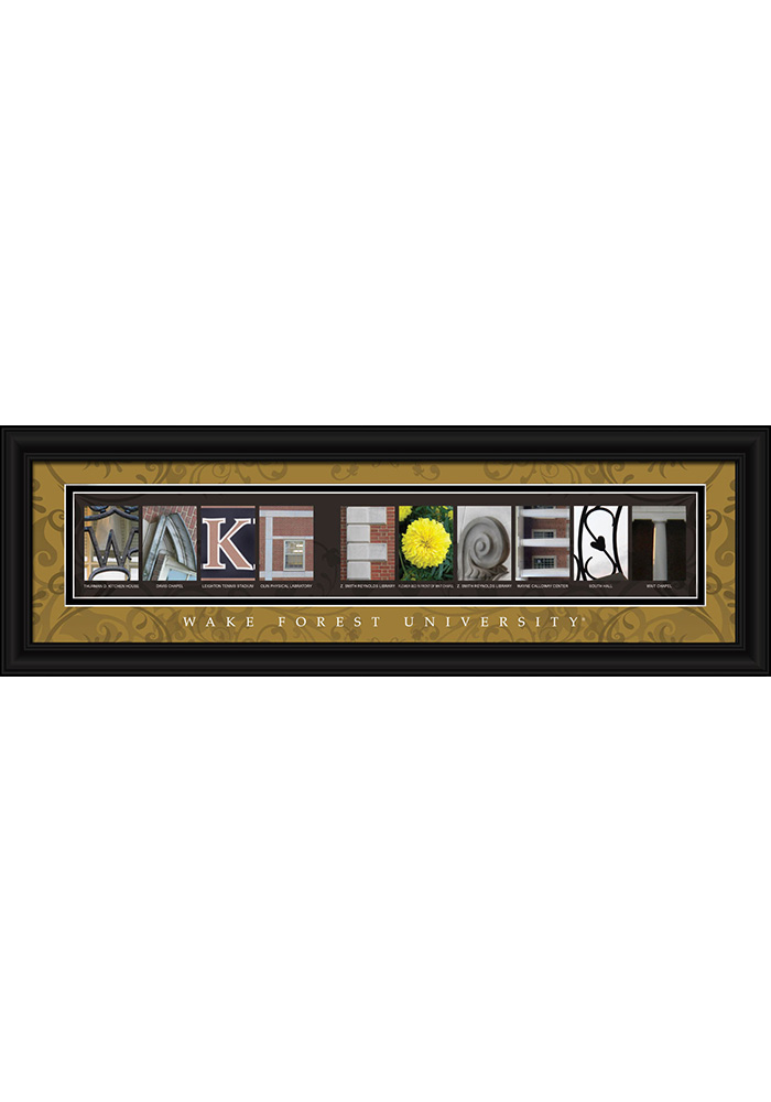 Wake Forest Demon Deacons 8x24 Framed Posters - Image 1
