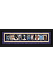 Washington Huskies 8x24 Framed Posters