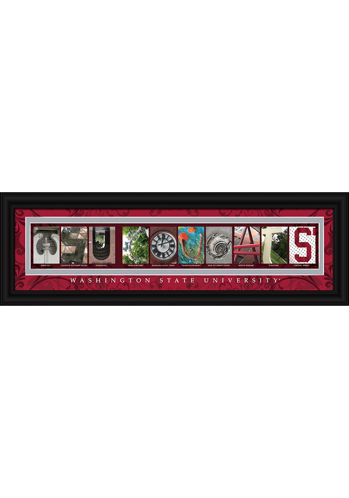 Washington State Cougars 8x24 Framed Posters 6540615